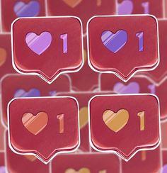 Insta Like/ Sticker. | Etsy