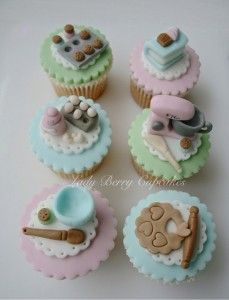 Lady Berry Cupcakes