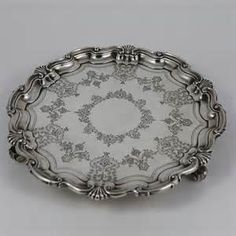 vintage silver trays - Bing Images