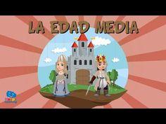 LA EDAD MEDIA | Vídeos Educativos para niños - YouTube