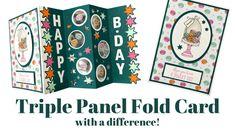 Triple Panel Fold Cards