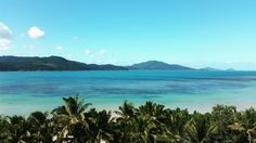 Photo © Moana Matron Designs - People who say money can't buy happiness, are spending it on the wrong things!  Travel, travel, travel! ✈View is Catseye Beach from a Whitsunday Apartments Balcony.  Hamilton Island, March 2016.