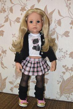 Обзор Модниц разных годов выпуска немецкой фирмы Gotz / Куклы Gotz - коллекционные и игровые Готц / Бэйбики. Куклы фото. Одежда для кукол