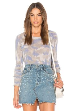6a8f61efa4385 online shopping for 27 miles malibu Tasha Camo Sweater from top store. See  new offer for 27 miles malibu Tasha Camo Sweater