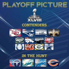 If the season ended RIGHT NOW...   Here's what the 2013 Playoff Picture would look like