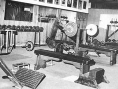 "Pic's of ""old school"" or ""vintage"" gyms. - Bodybuilding.com Forums"
