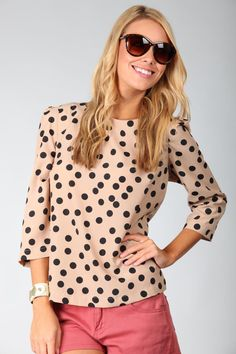 Wish this company wasn't in Australia! Everything is made of cotton and is super cute! love this top!!!