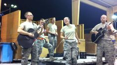 """USAF Covers """"Rolling in the Deep"""" 