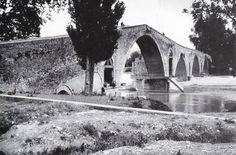 Το γεφύρι της  Άρτας, 1946 (Φωτογραφικό Αρχείο Εθνικού Ιστορικού Μουσείου)