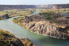 Snake River. Idaho Travels & Hagerman Fossil Beds National Monument