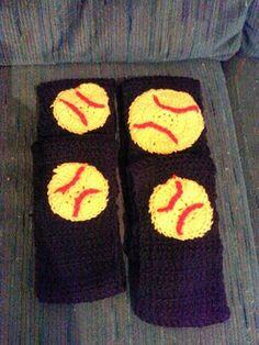 Baseball/softball headbands by AmysCraftswithLove on Etsy