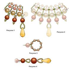 Beading | Entries in category Beading | Blog Raduga_58: LiveInternet - Russian Service Online Diaries  (PAGE 2 OF 2 ~ GREEN & IVORY)