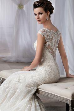 Wedding gown by Jasmine Bridal