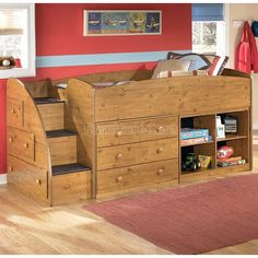 Triple Bunk Bed Plans | ... bed with changeable color accent panels captain s storage bed twin or