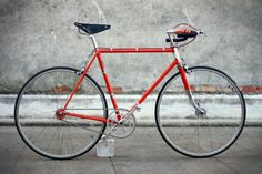 "Bici retrò ""M. Hulot"" su telaio Rochet."