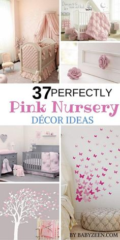 51 Perfectly Pink Nursery Ideas With Images , If you have decided on a pink nursery but need help with the planning, here are some great pink nursery ideas to get your creative juices flowing. Grey Nursery Boy, Nursery Crib, Nursery Bedding Sets, Rustic Nursery, Elephant Nursery, Baby Nursery Decor, Nursery Neutral, Nursery Themes, Nursery Ideas