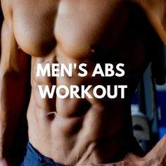 Men's Fitness - Men's Abs Workout (10 Charts) – LIFESTYLE BY PS