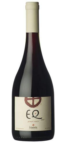 EQ, Pinot Noir wine / vinho / vino mxm #vinosmaximum