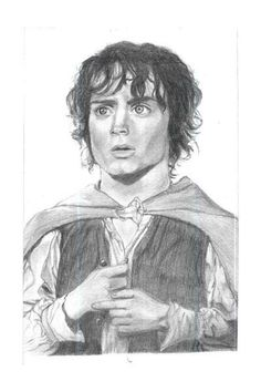 "Mi versión Comic de Frodo, de ""Lord of the Rings"""
