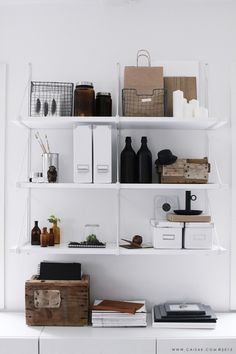 Tips for styling shelves by Apartment Apothecary