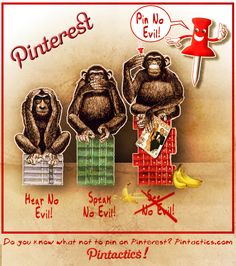 created for pintactics.com Pin No Evil!  by Tom Butler
