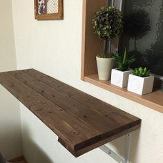 折りたたみ式カウンターテーブル アンティークの画像1枚目