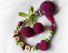 Pacifier holder Dummy clip personalized от HoldersRattlesnmore, $16.90