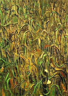 Vincent Van Gogh. Ears of Wheat (1890).