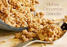Gluten Free Honey Cinnamon Granola