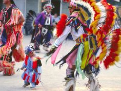 Canadian fest and Native dancing