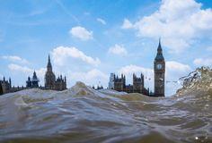 Londen stroomt over