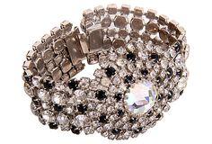 Hobe Rhinestone Bracelet on OneKingsLane.com