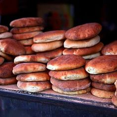 Khobz (Moroccan Bread) _thinking I need to try these someday :)