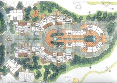 master plan for a urban design golf course, touristic village and 5 star hotel   Joao SImao   Archinect