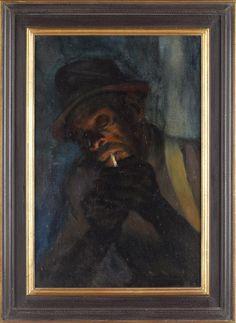 Julien Binford (VA/NY, 1908-1997), Man Lighting... Sold $9750