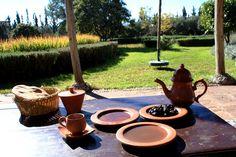 """At """"Jardin Bio Aromatique de l'Ourika""""'s garden"""