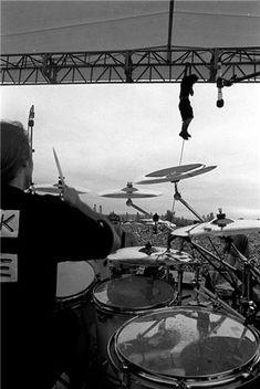 classic photo of Eddie Vedder | Pearl Jam