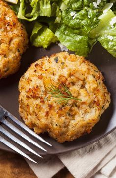 Crab Cakes with Lemon Dill Yogurt Sauce. Zesty spices and fresh herbs add wonderful taste and plenty of vitamins and minerals.