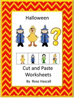 Halloween is an exciting time for kids. They love dressing up as their favorite character. And, of course, there is the candy that is big part of Halloween. The fun can begin with this Halloween Cut and Paste Worksheet Set. This Halloween Cut and Paste Worksheet Set-PK, K, Special Education, Autism contains 28 pages.