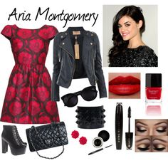 Aria Montgomery style from PLL