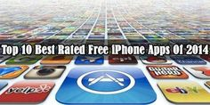 Top 10 best rated iPhone apps 2014