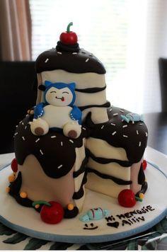Snorlax Choclate Cake