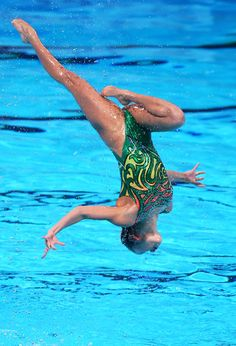 Japan compete in the Synchronized Swimming Team preliminary round on day four of the 15th FINA World Championships at Palau Sant Jordi on July 23, 2013 in Barcelona, Spain.