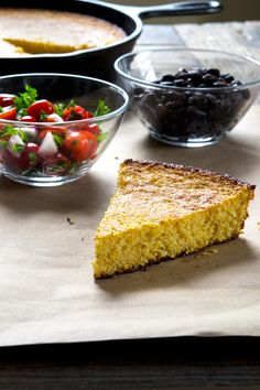 This old fashioned naturally gluten free cornbread recipe has no rice flour, just cornmeal. Serve it with chili, or by itself. It's your new favorite side!