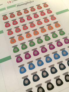 Food Scale Stickers for Erin Condren Kikki-K by PlanningPerfect  #planner #stickers #erincondren #lifeplanner #kikkik #plumpaperplanner #filofax #planning #scrapbook #foodscale #food #scale #portion #weight #loss #diet