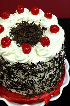 Black Forest Cake by Kaitlin F, via Flickr