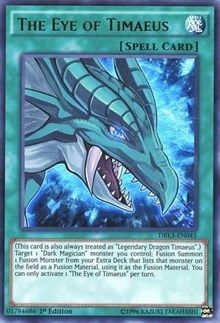 The Eye of Timaeus holo yugioh card #2