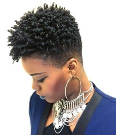 Type hair is underrepresented and it can be hard to find info on how to properly take care of our hair. Here's some tips to help you manage your hair. - May 05 2019 at Short Natural Styles, Natural Hair Short Cuts, Short Natural Haircuts, Short Hair Cuts, Tapered Natural Hairstyles, Natural Tapered Cut, Tapered Afro, Short Styles, Twisted Hair