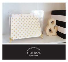 DIY | Kate Spade Inspired File Box | FelicityJane.com