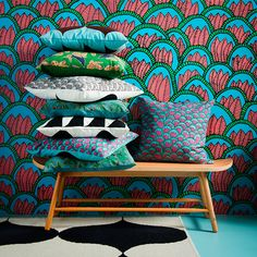 #IKEA Tillfälle range available in February 2016. I've got my eyes on the black & white patterned cushion!